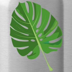 tropical leaves - Water Bottle