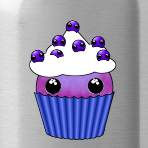 Blueberry Kawaii cupcake - Vattenflaska