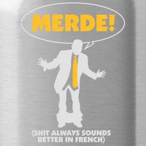 Swear Words Sound Better In French - Water Bottle