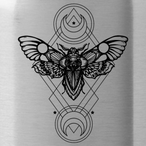 vlinder tattoo - Drinkfles