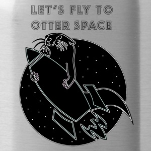 LET'S FLY Otter SPACE - Vattenflaska