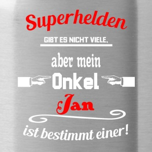 Superhelden Onkel Jan - Trinkflasche