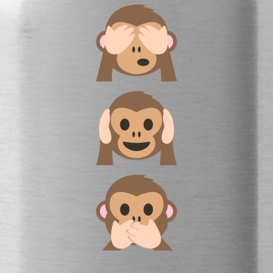 Monkey Emoji limited edition - Drinkfles