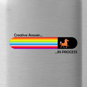 Creative answer is loading Unicorn - Water Bottle