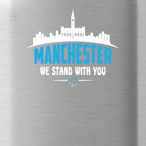 MANCHESTER WE STAND WITH YOU - Water Bottle