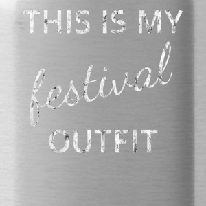 outfit festival - Drinkfles