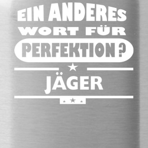 Jaeger Anderes Wort fuer Perfektion - Trinkflasche