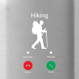 Hiking is calling - Water Bottle