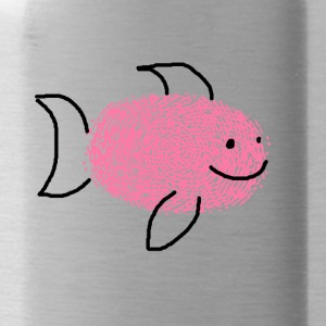 Little smiling shark - Water Bottle