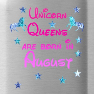 Unicorn Queens nato agosto - Borraccia