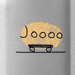 Journey with yellow campers Bob - Water Bottle