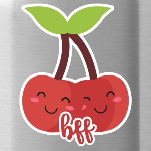 Fruit / fruit: kersen - BFF - Best Friends - Drinkfles