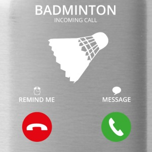 Call Mobile Call badminton - Water Bottle