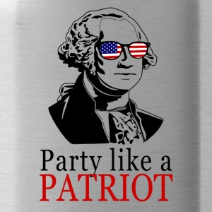 Party lide en patriot! USA shirt Patriots Shir - Drikkeflaske
