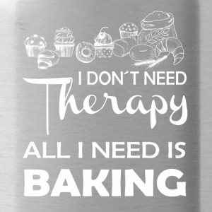 Baking Therapy Gift Cake Pie Muffin Bread - Water Bottle