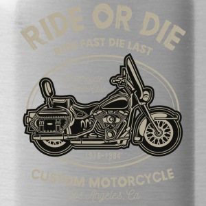 Ride Or The - Water Bottle