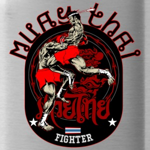 Muay Thai Fighter - Trinkflasche