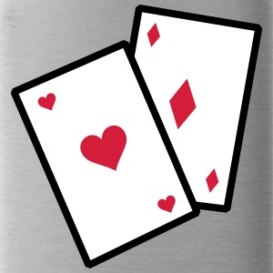 Gambling Poker Cards - Vattenflaska