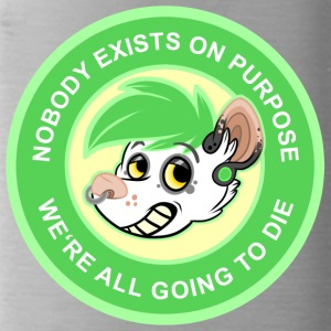 NOBODY EXISTS ON PURPOSE - GREEN - Trinkflasche