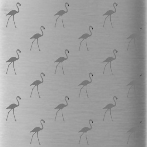 beaucoup Flamingos gris - Gourde