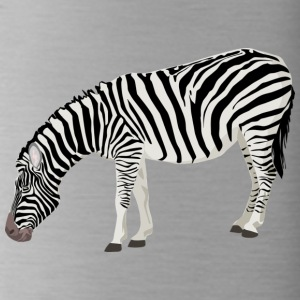 zebra - Water Bottle