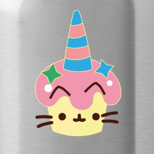 Unicorn cupcake cat - Vattenflaska