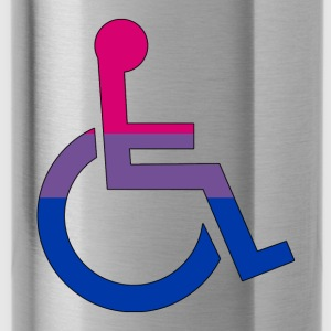 Disabled Bi Pride - Water Bottle