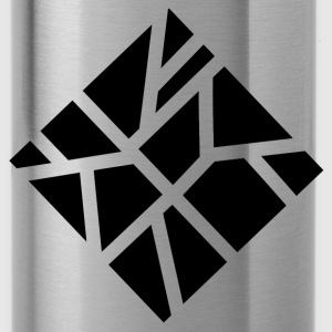 Geometric square - Water Bottle