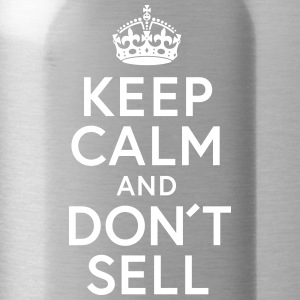 Keep Calm and Dont sell - Trinkflasche