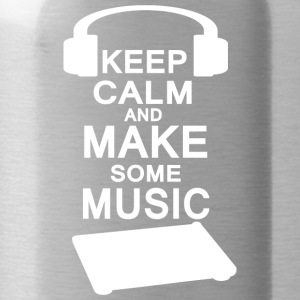 KEEP KALM make music - Water Bottle