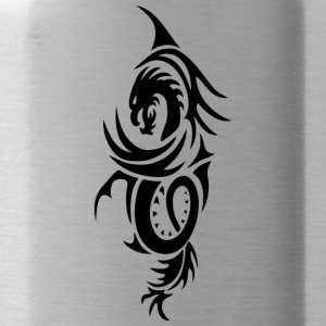 Dragon - Tribal 2 - Trinkflasche