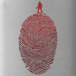 Fingerprint - ax - Water Bottle
