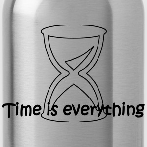 Time is everything - Trinkflasche