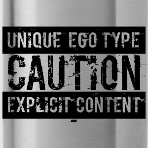 Unieke Ego Type - Explicit Content Edition - Drinkfles