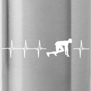 I love sprint (sprint heartbeat) - Water Bottle