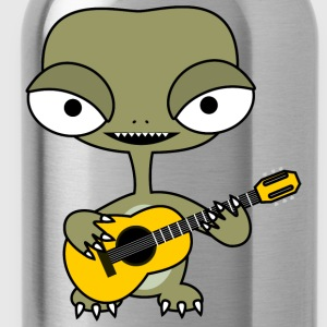 Alien with guitar - Bidon