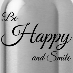 Be Happy - Water Bottle