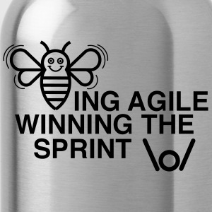 BEING AGILE WINNING THE SPRINT - Water Bottle
