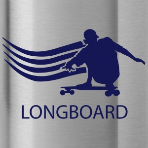 longboard - Water Bottle