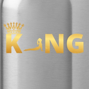 gift king master god ballet yoga 3 - Water Bottle