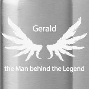 Gerald the Man behind the Legend - Water Bottle