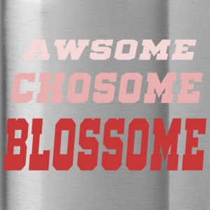 awsome chosom blossome pink - Water Bottle