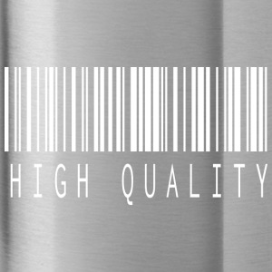 HIGH QUALITY BARCODE WHITE - Trinkflasche
