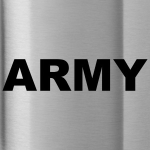 Army lettering - Water Bottle