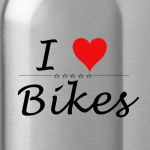 I Love Bikes - Water Bottle