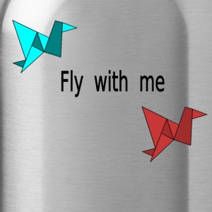 Fly with me - Trinkflasche