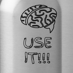 Use your Brain - Water Bottle