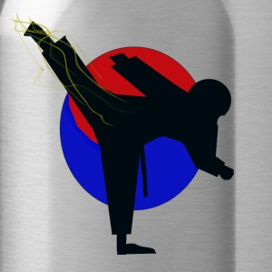 Taekwondo fighter design - Water Bottle