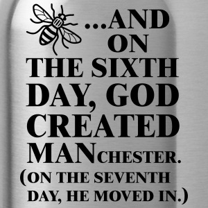 GOD CREATED MANCHESTER - Water Bottle