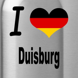 I Love Germany Home Duisburg - Trinkflasche